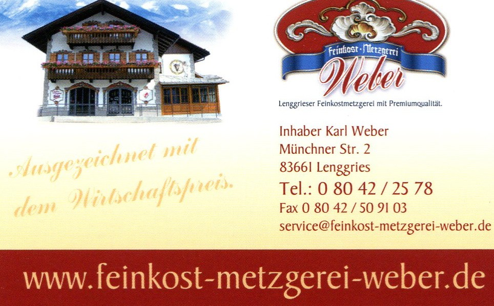 Metzgerei Weber